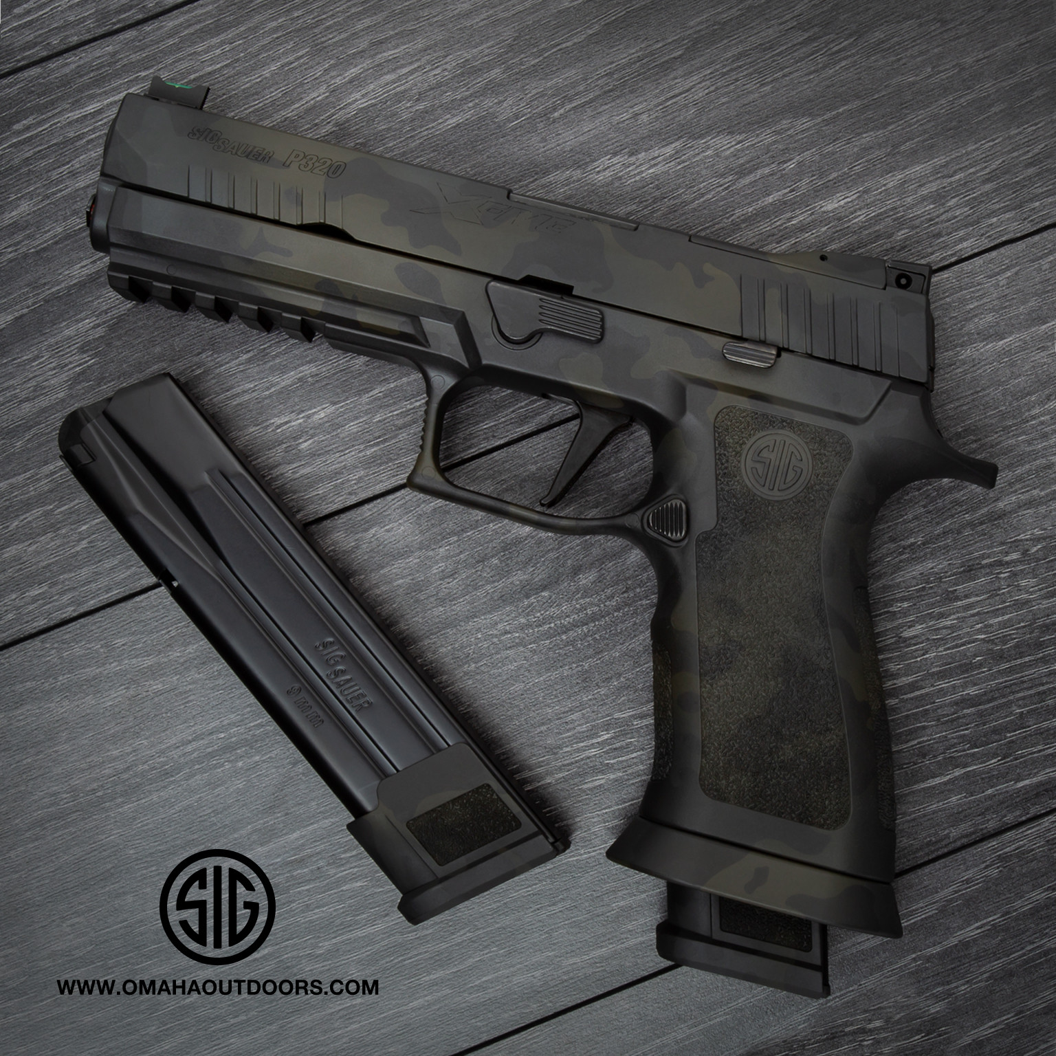 Sig Sauer P320 X-Five Black MultiCam Pistol 9mm 21 RD 320X5-9-BAS-BMC