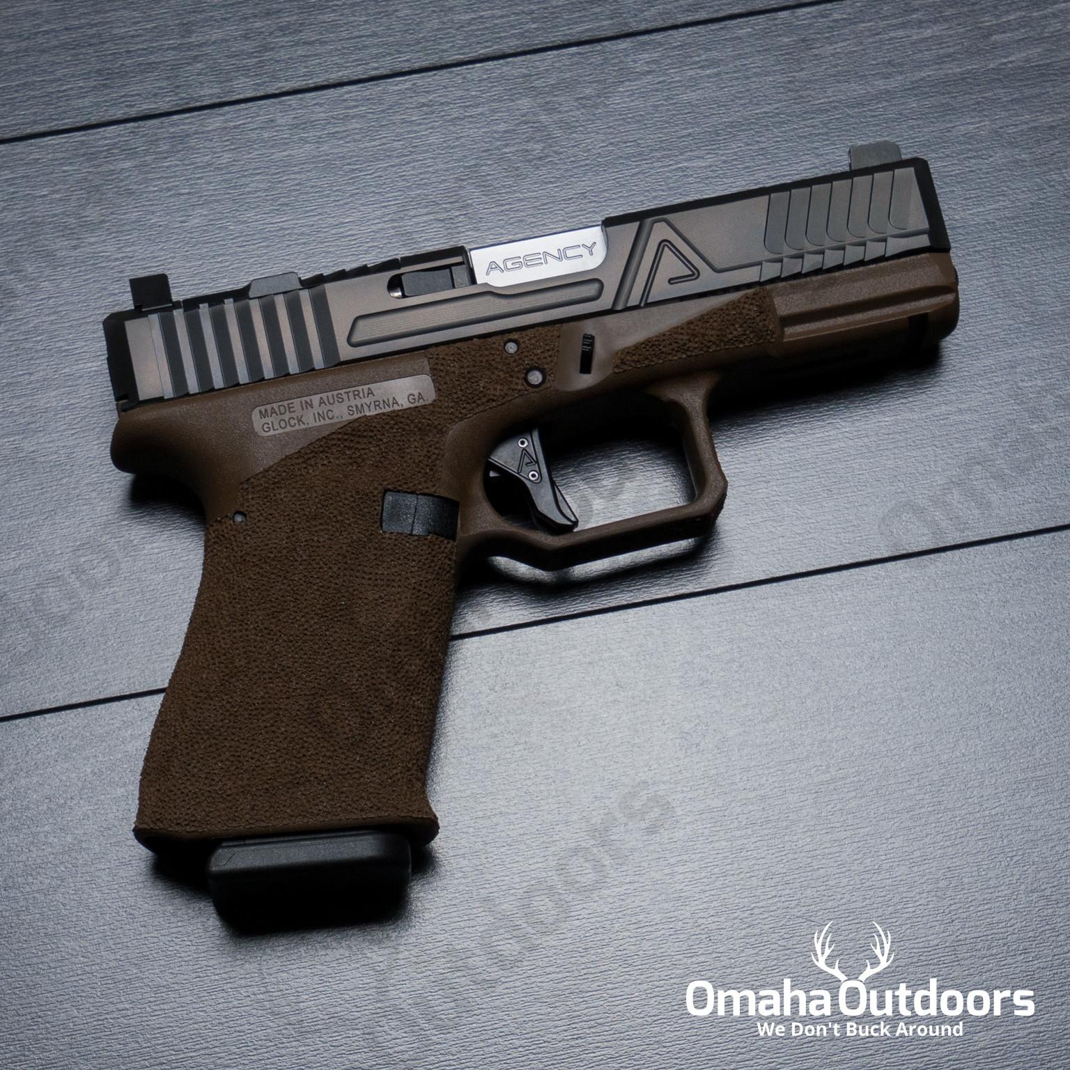 Agency Arms Glock 19 Gen 3 Hybrid FDE Pistol 9mm 15 RD Night Sights  AA-G19-G3-DE-HS