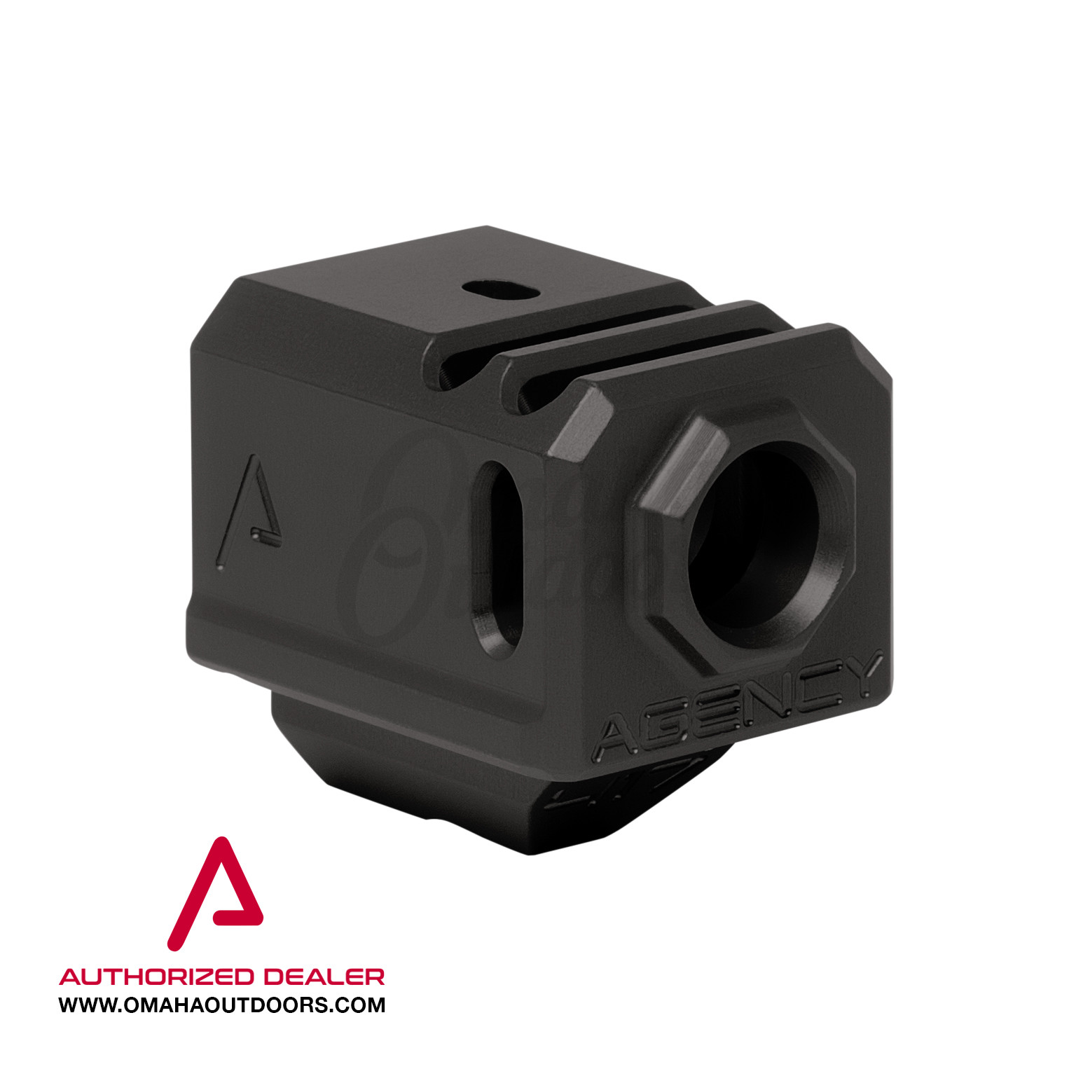 Agency Arms 417 Dual Port Compensator Glock 17 19 34 Gen 3 9mm 1/2