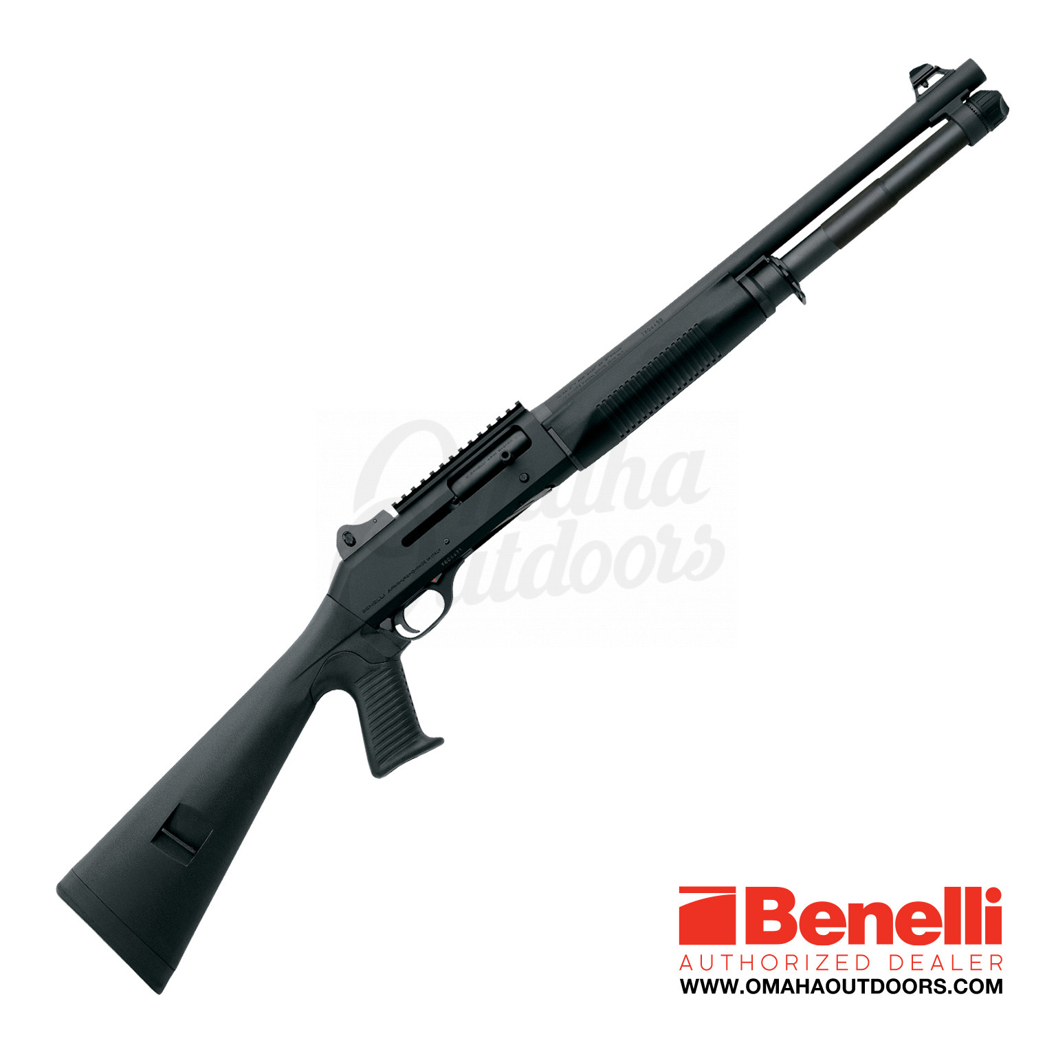 Benelli LE M4 Tactical Semi-Auto Shotgun 12 Gauge 7 RD 18 5″ Pistol Grip  Stock 11713