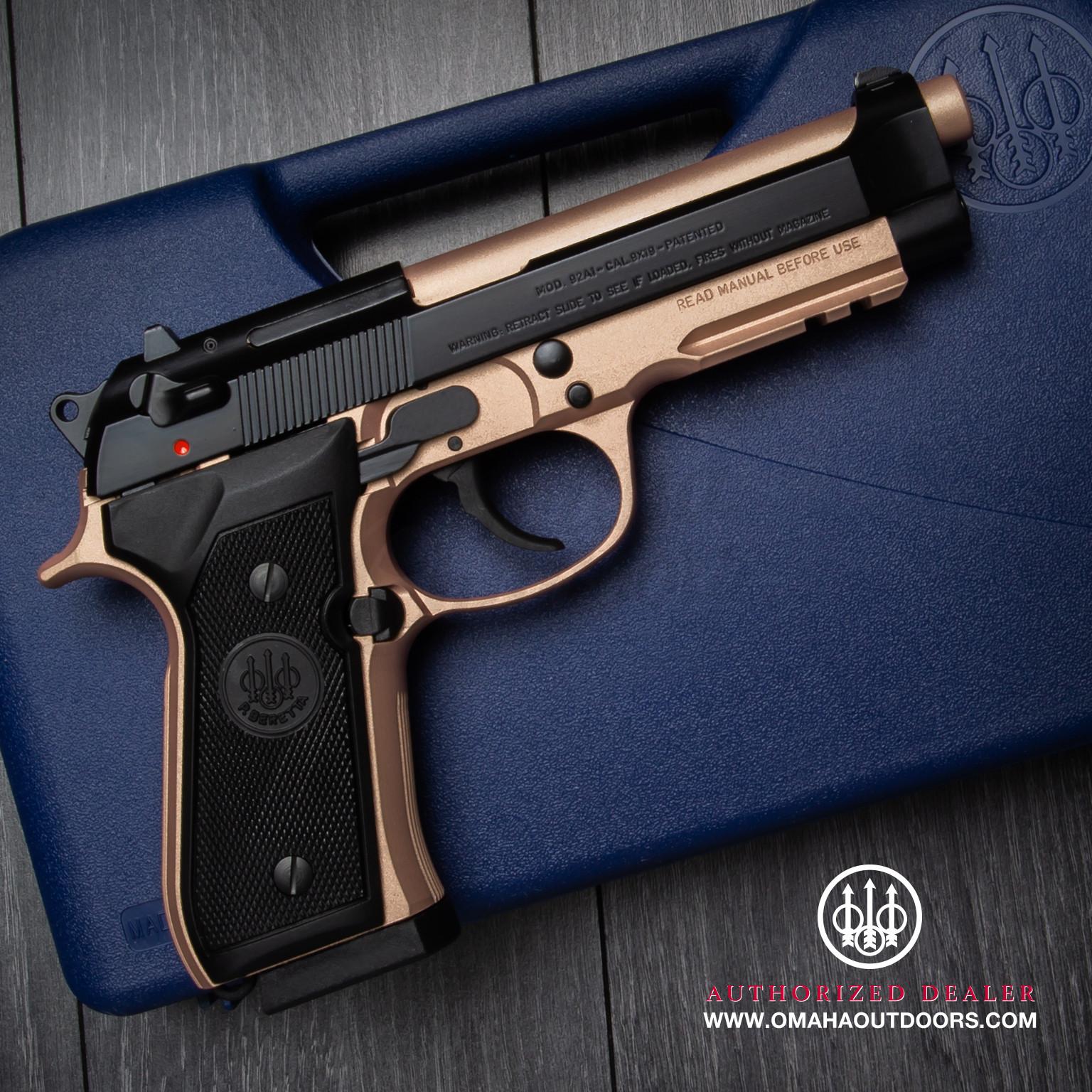 Gold 9mm Pistol – Jerusalem House