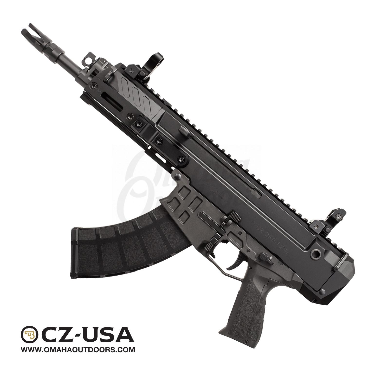 CZ-USA Bren 2 Ms Rifle Style Pistol 9″ 7 62×39 30 RD 91460
