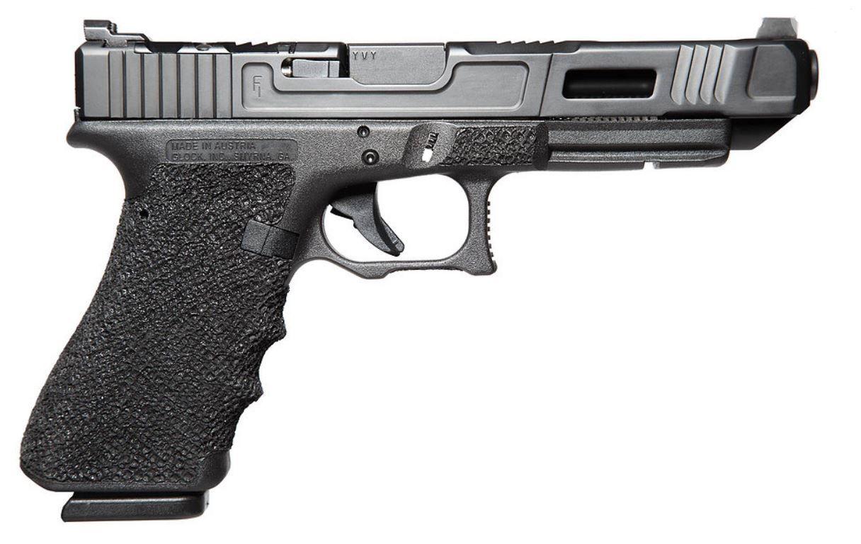 fowler industries glock 34 gen 3 mk3 pistol 9mm 17 rd front night sight