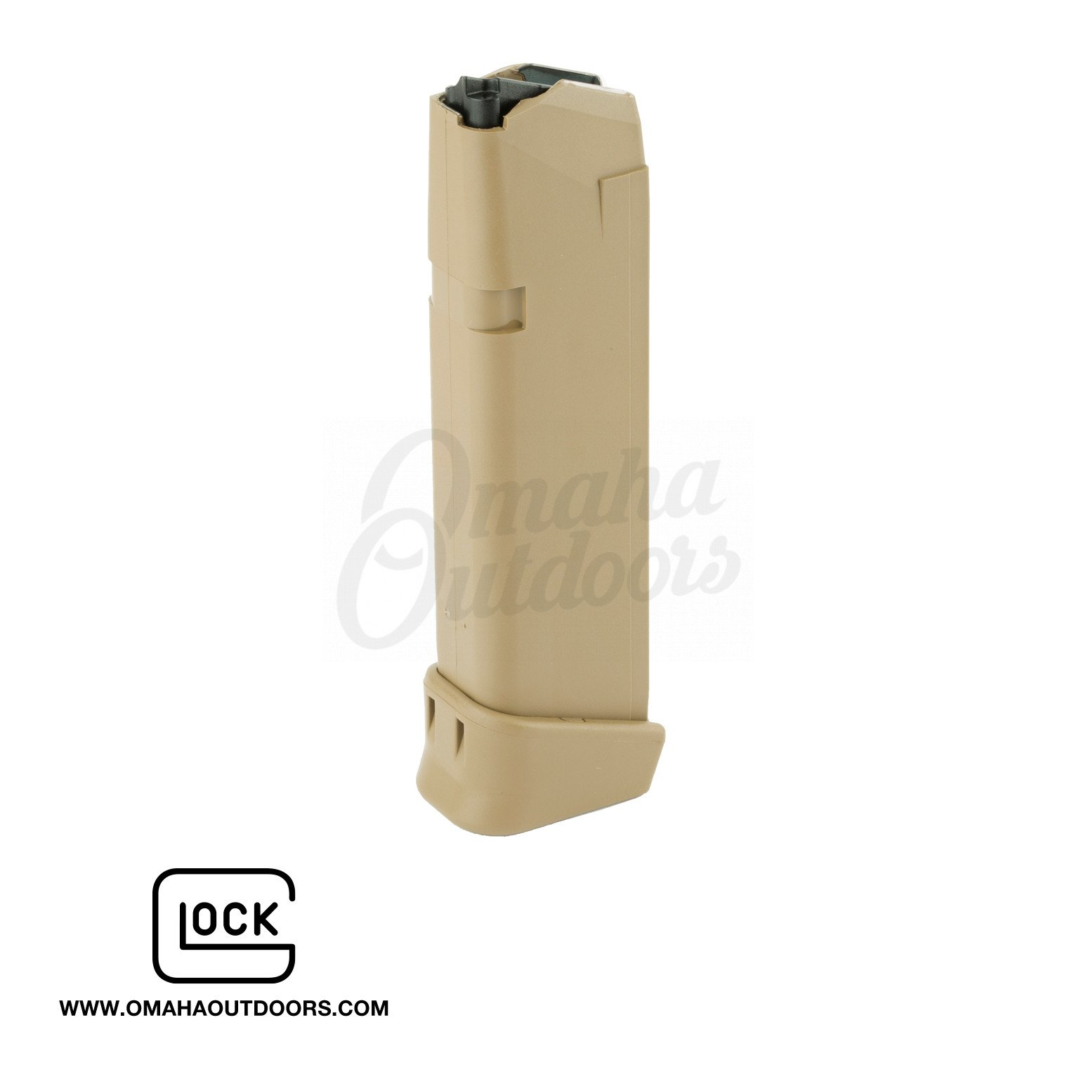 Glock 19x Coyote Brown Oem Magazine 19 Rd 9mm Extended