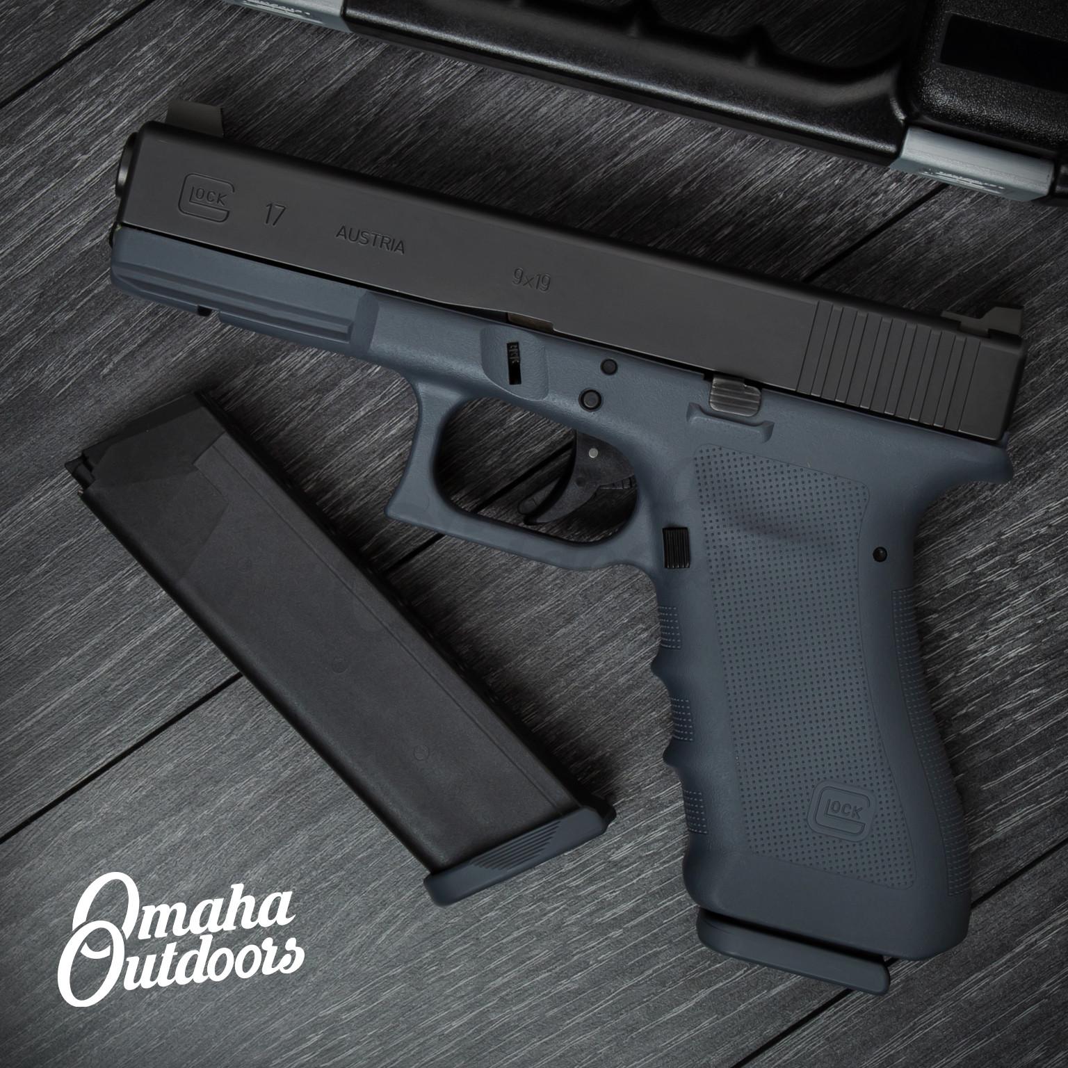 Glock 17 RTF2 Larry Vickers Gaston Gray Pistol 9mm 17 RD Front Night Sight  PT1750003DE-GGY