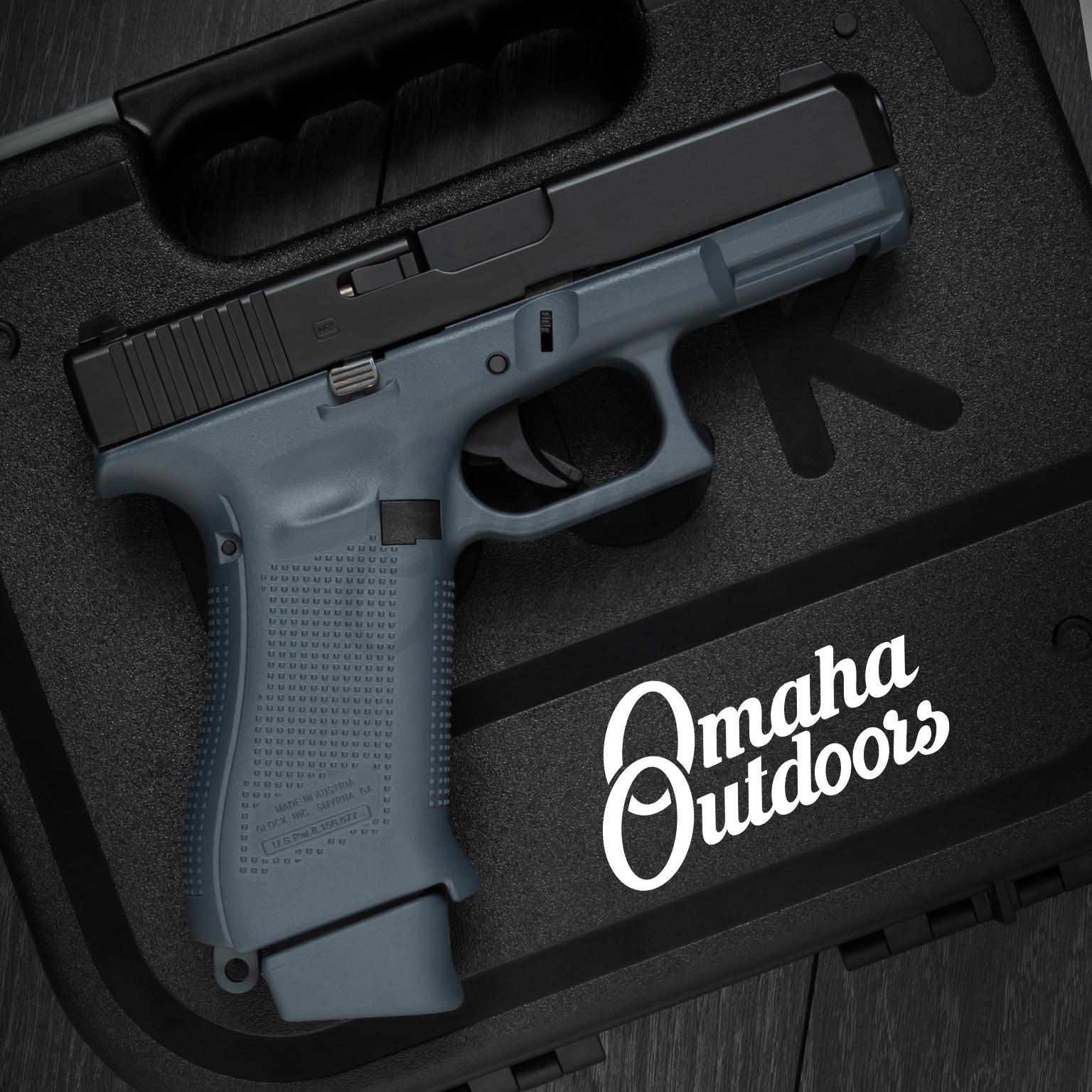 Glock 19X Gen 5 Gaston Gray Pistol Flat Black Slide 9mm 19 ...