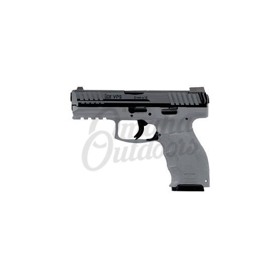HK VP9 LE Gray Pistol 15 RD 9mm Night Sights 700009GYLE-A5