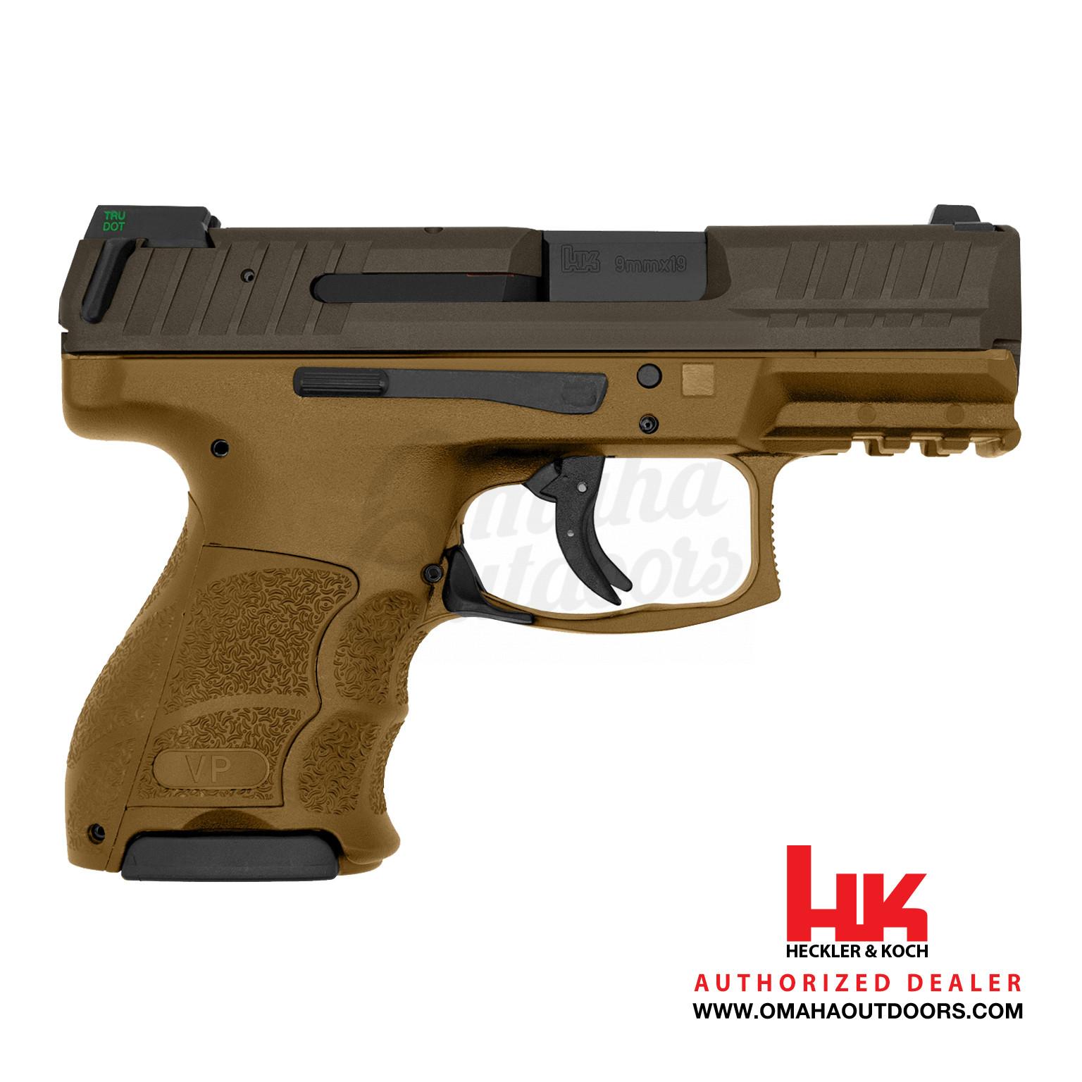 HK VP9SK LE Burnt Bronze 10 RD 9mm Spartan Bronze Slide