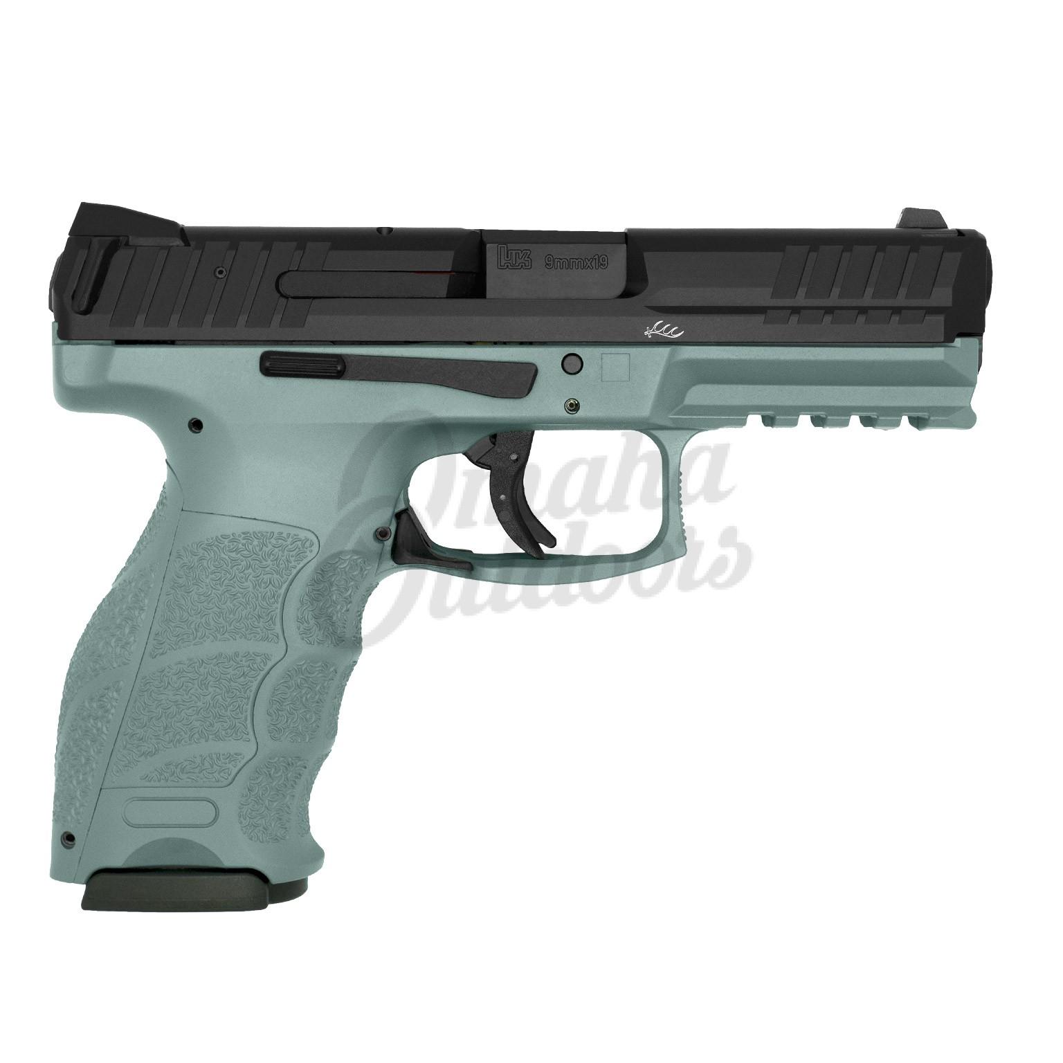 HK VP9 LE Urban Gray Pistol 17 RD 9mm Night Sights