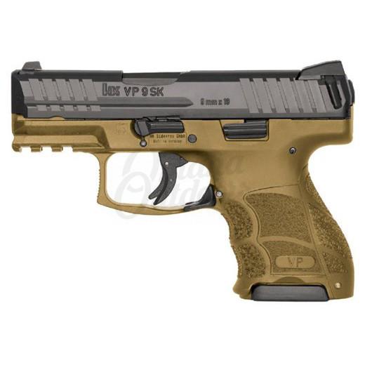 Heckler And Koch VP9SK LE FDE Pistol 10 RD 9mm Night
