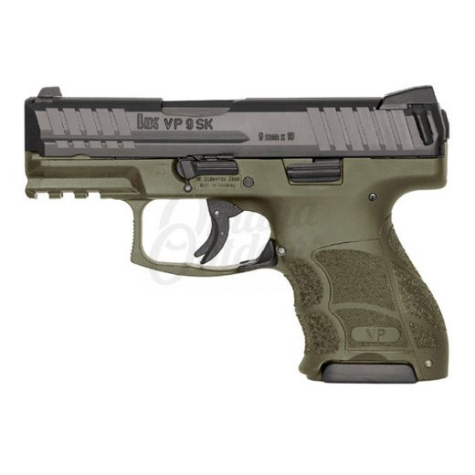 Heckler And Koch VP9SK LE OD Green Pistol 10 RD 9mm Night