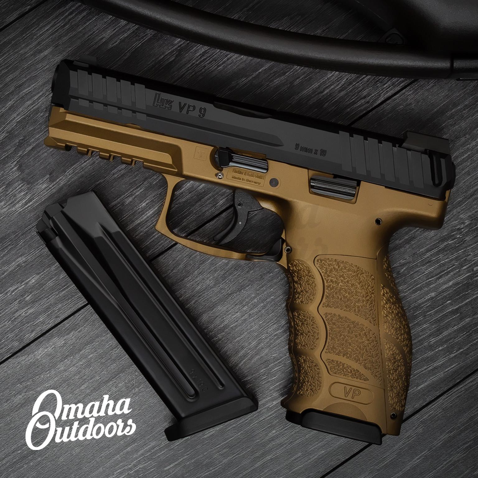 Hk Vp9 Burnt Bronze Pistol 17 Rd 9mm 81000283 Bbz Fr