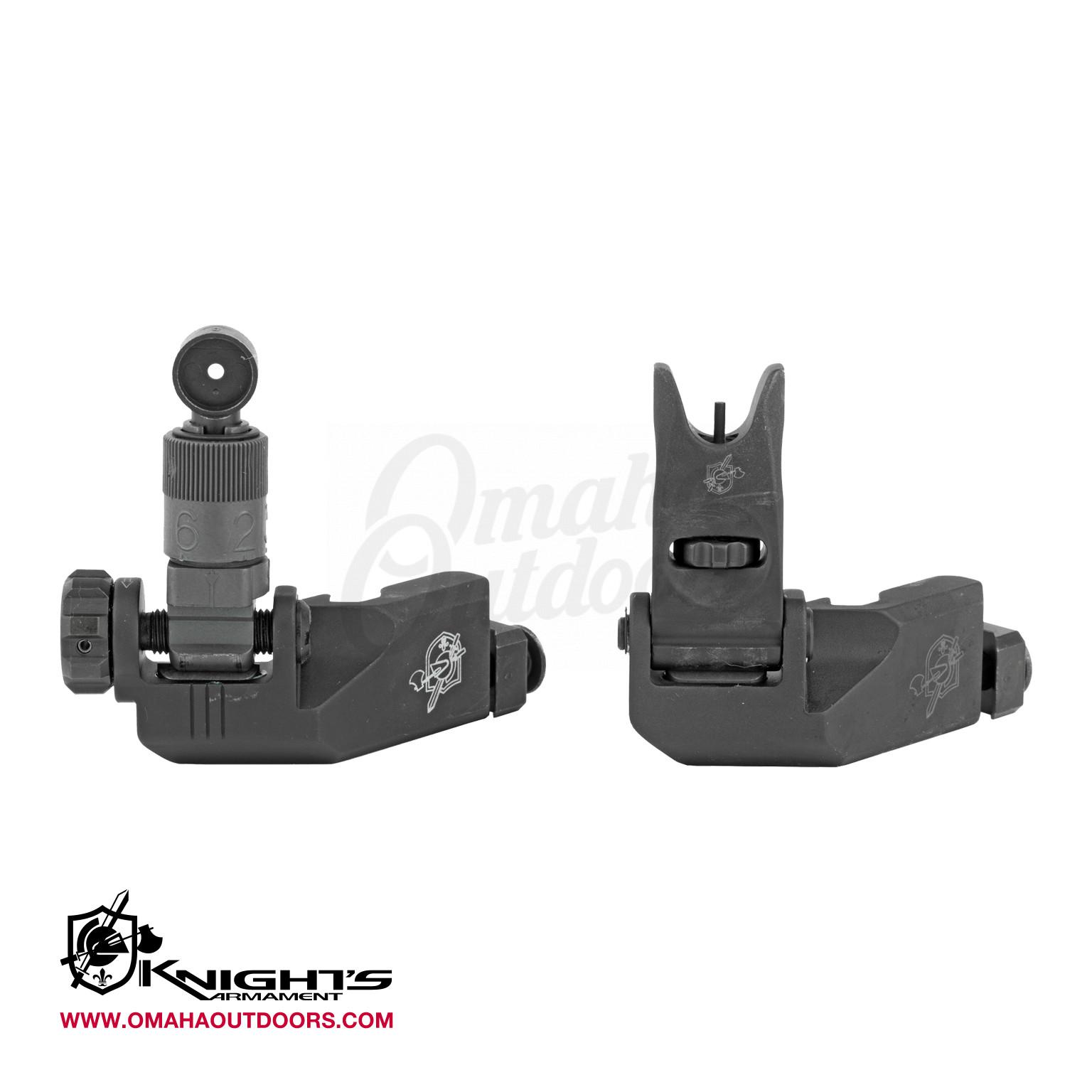 KAC 45 Degree Offset Folding Micro Sight Kit 200-600 Meter Adjustable AR-15  AR-10 Aluminum 31593