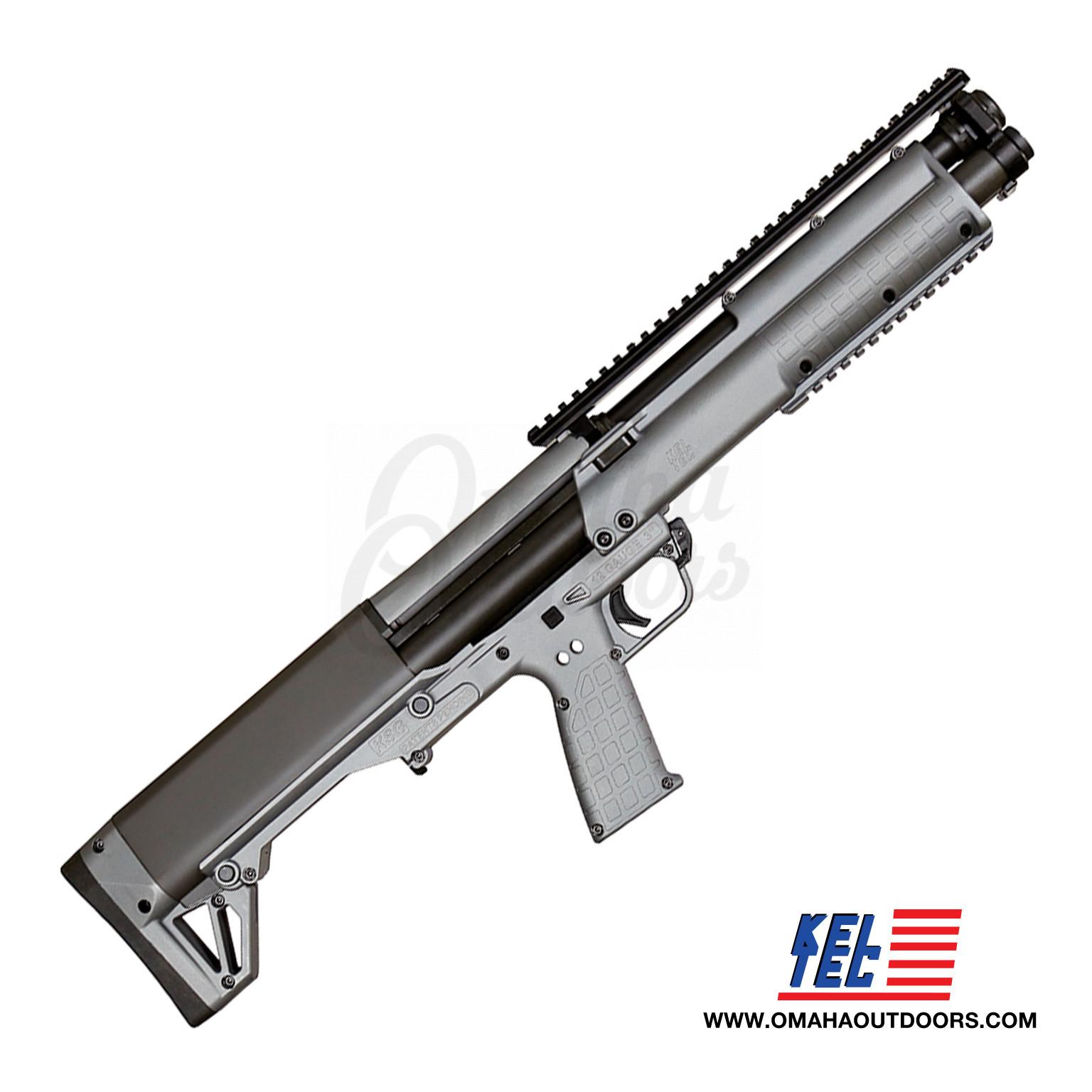 Kel-Tec KSG Pump Shotgun 12 Gauge 6+6 RD 18 5″ Sniper Gray Synthetic Stock  KSGSNGY