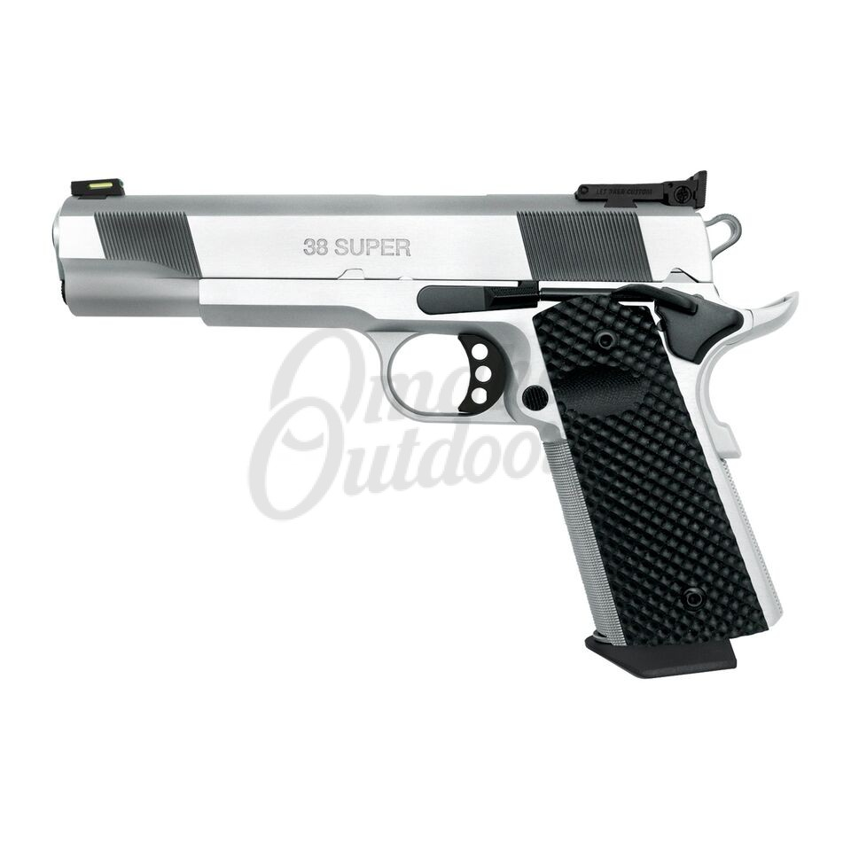 Les Baer Custom Hemi 572 Full Chrome 5″ Pistol 38 Super 9 RD LB-HEMI