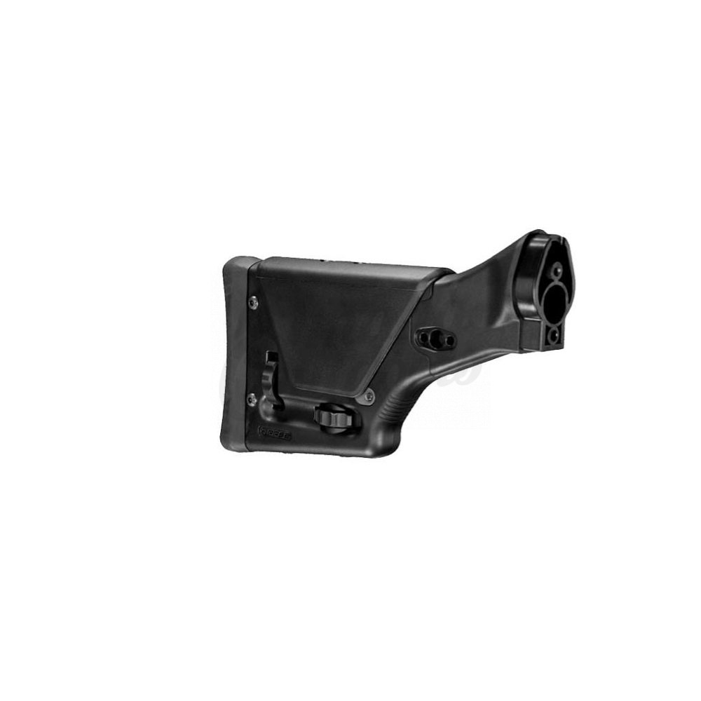 Magpul Industries PRS2 Buttstock Heckler and Koch G3 91 Adjustable Polymer  Aluminum MAG340-BLK
