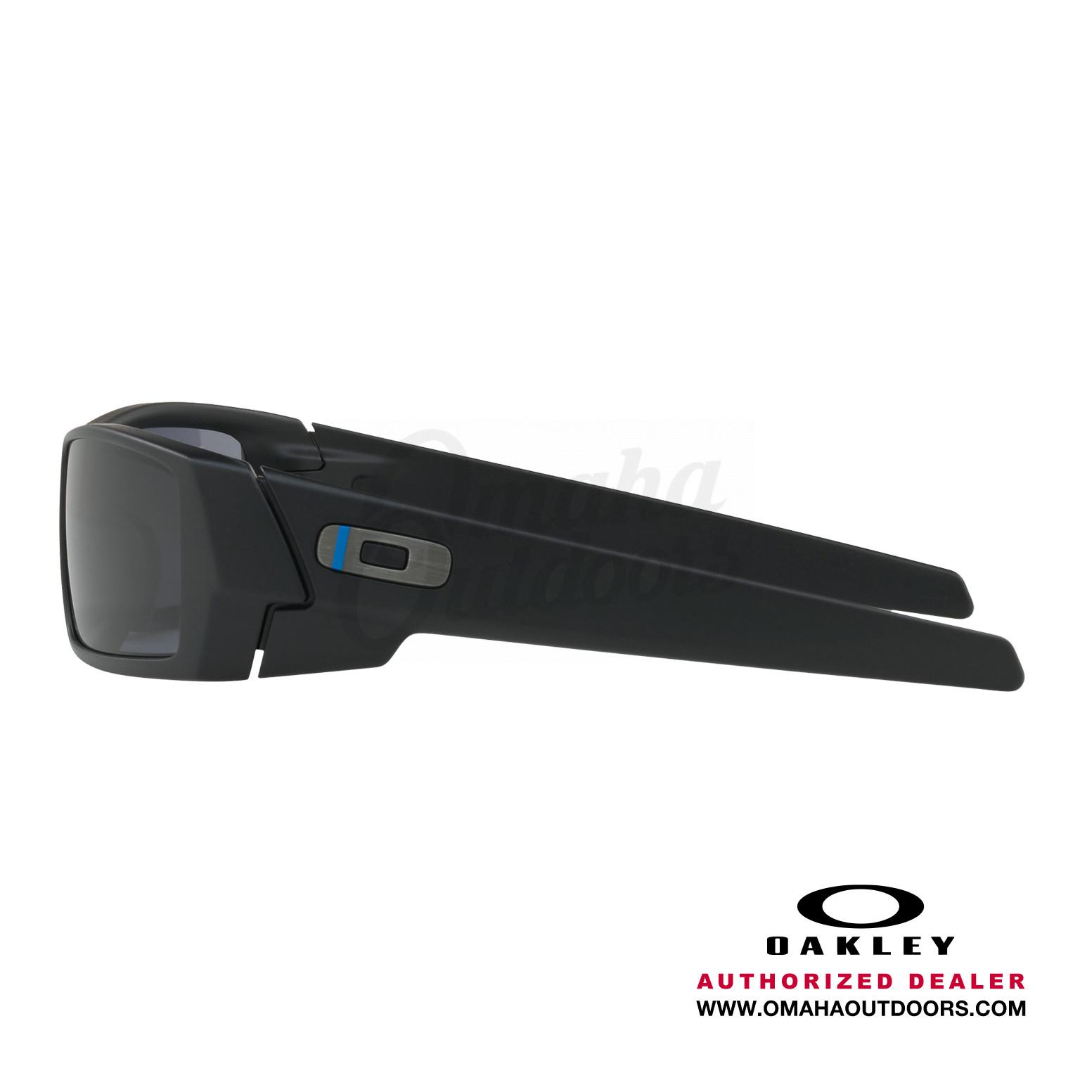 9dee1723bb Oakley SI Gascan Thin Blue Line Sunglasses Gray Lens · OO9014-11