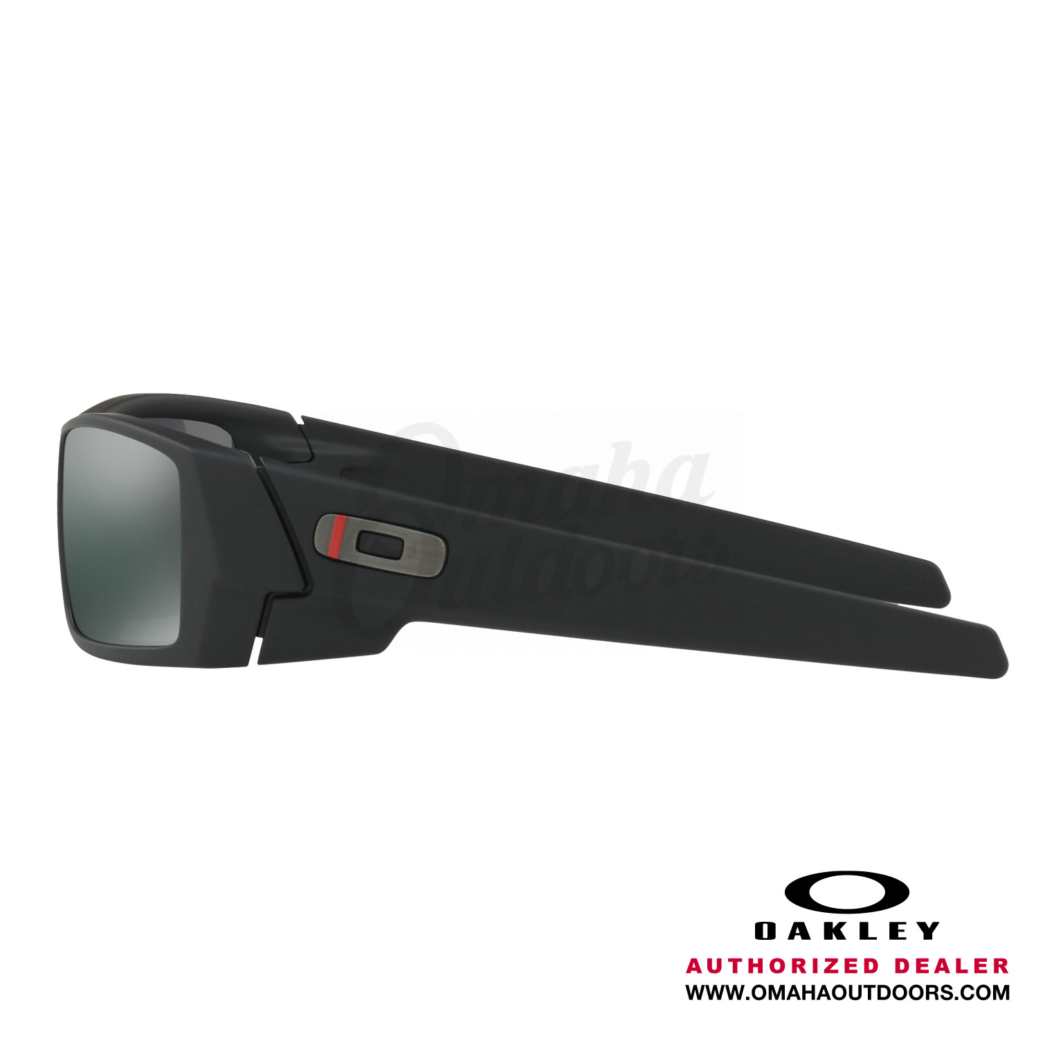 3d4394183f Oakley SI Gascan Thin Red Line Sunglasses Black Iridium Lens · OO9014-2060