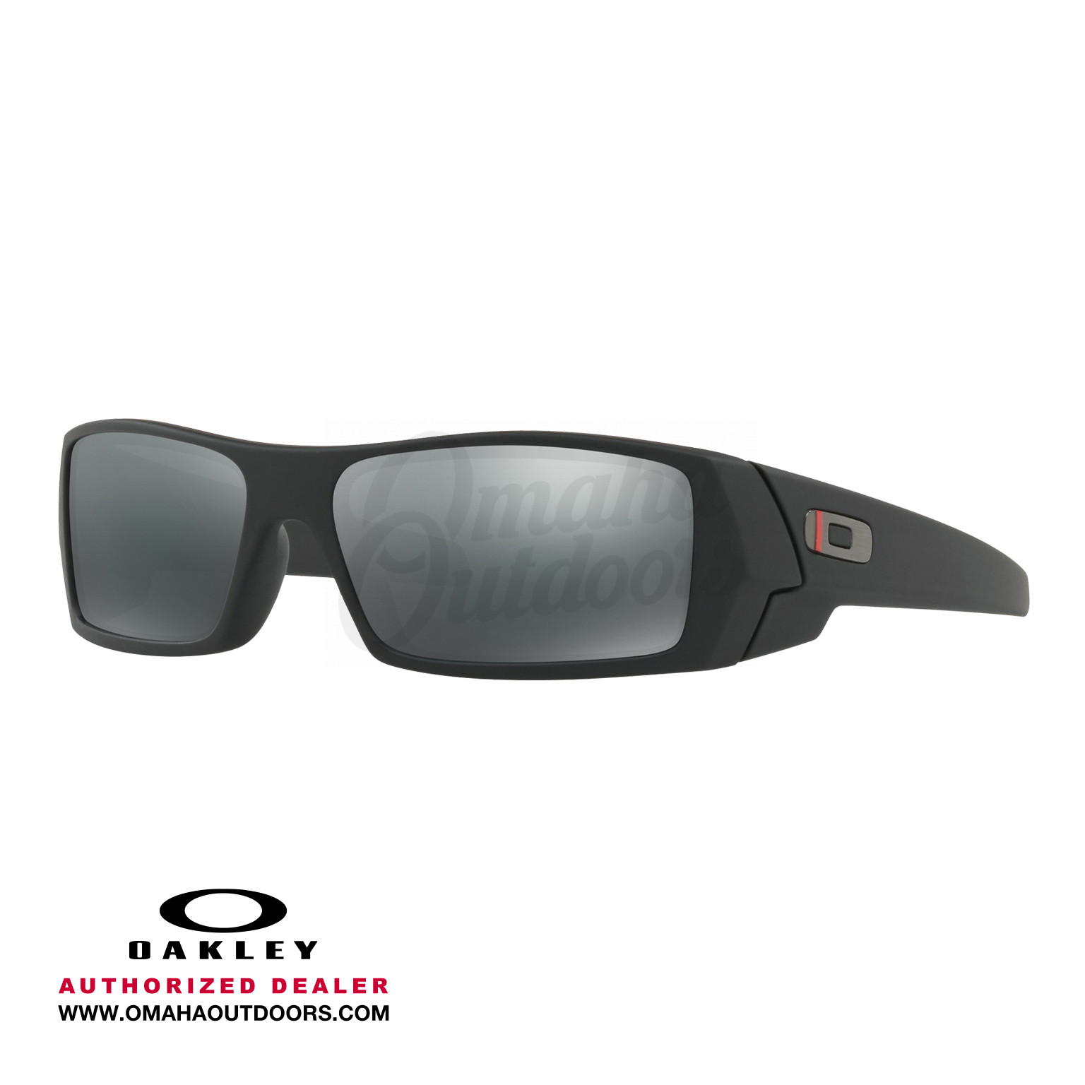 01a8e7fcf0 Oakley SI Gascan Thin Red Line Sunglasses Black Iridium Lens ...