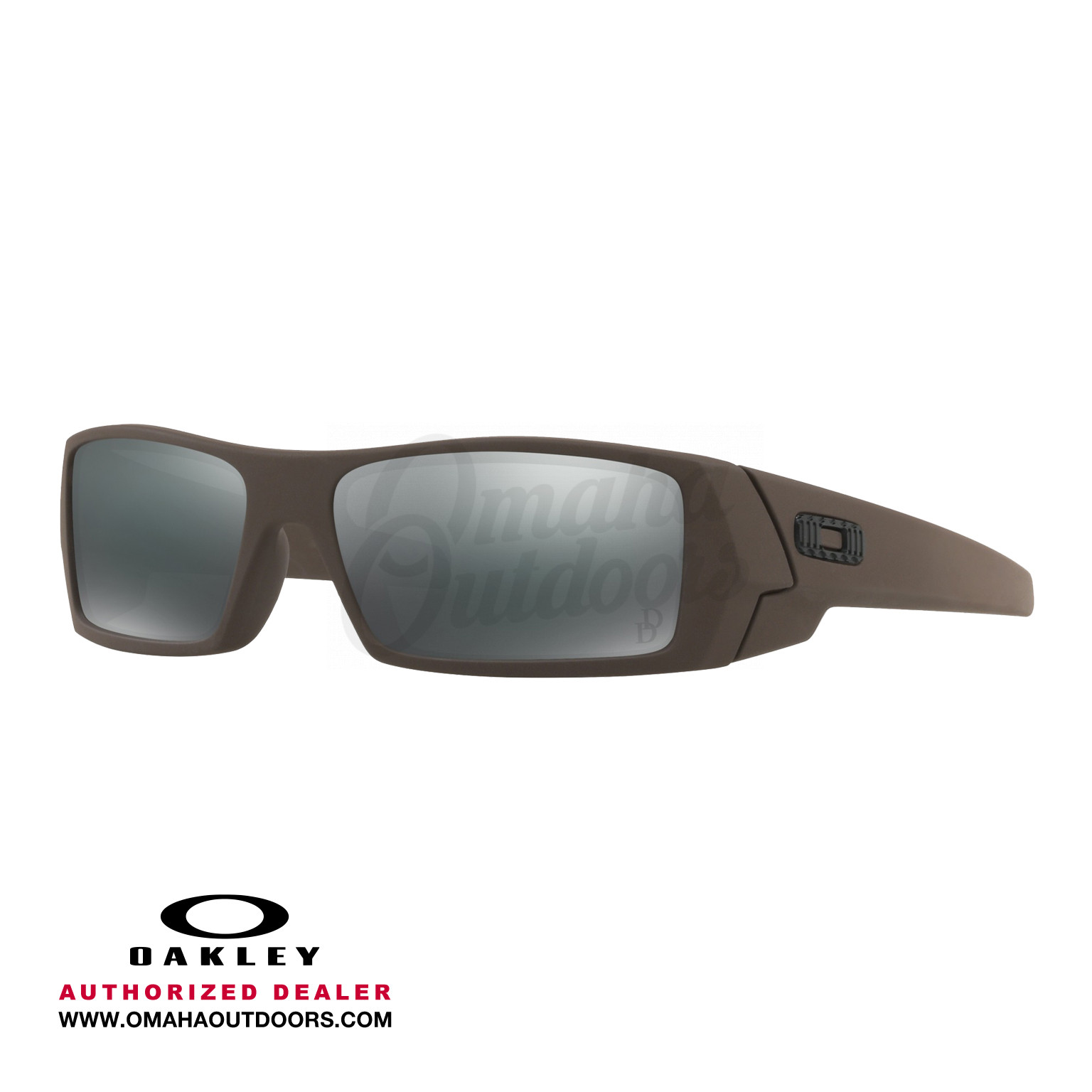 f90644fa833 Oakley Daniel Defense Gascan Desert Tan Sunglasses Black Iridium Lens OO9014 -2160