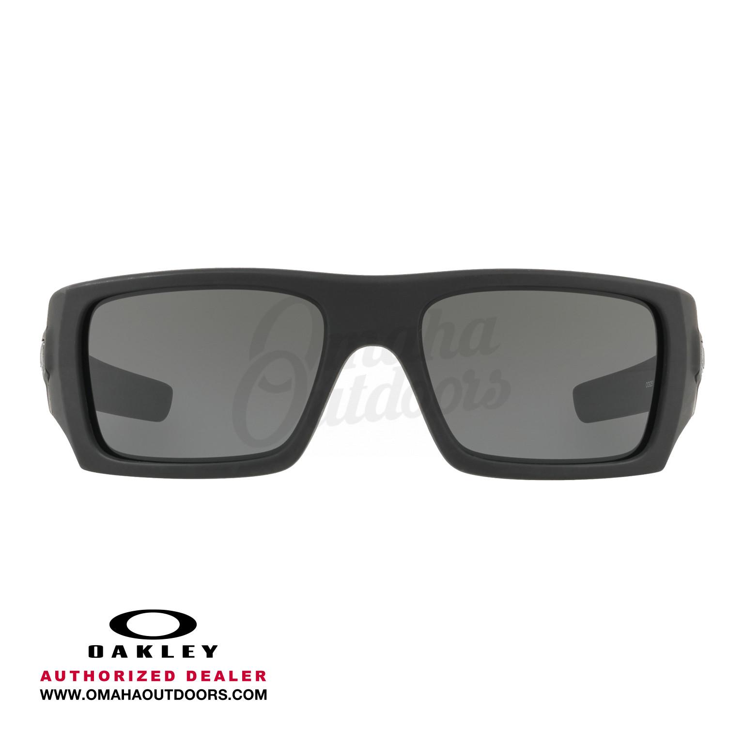 Oakley Det Cord >> Oakley Si Ballistic Det Cord Cerakote Safety Eyeglasses Gray Lens