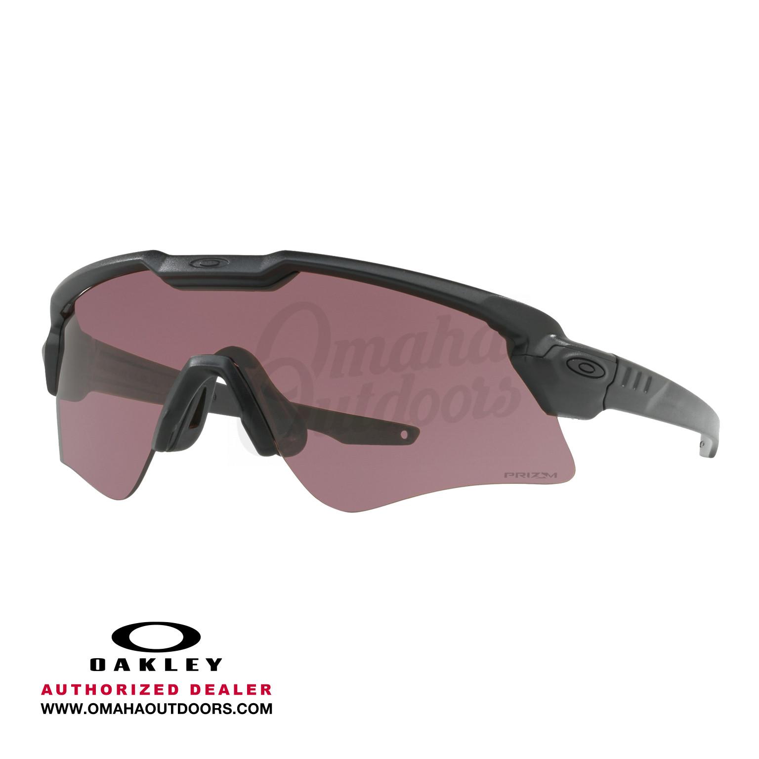 fca585b808f Oakley SI Ballistic M Frame Alpha Safety Eyeglasses Clear Gray Prizm  TR22 Prizm