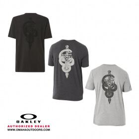 5510fed2105b4 Oakley 50-Snake Dagger Men s T-Shirt Cotton Polyester