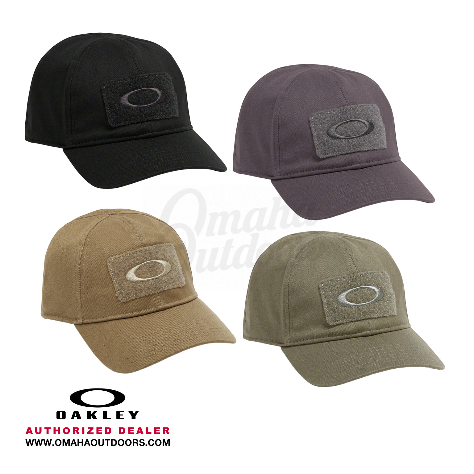 Oakley Standard Issue Cotton Cap Hook and Loop Patch Embroidery Logo 911630 59533f73e556