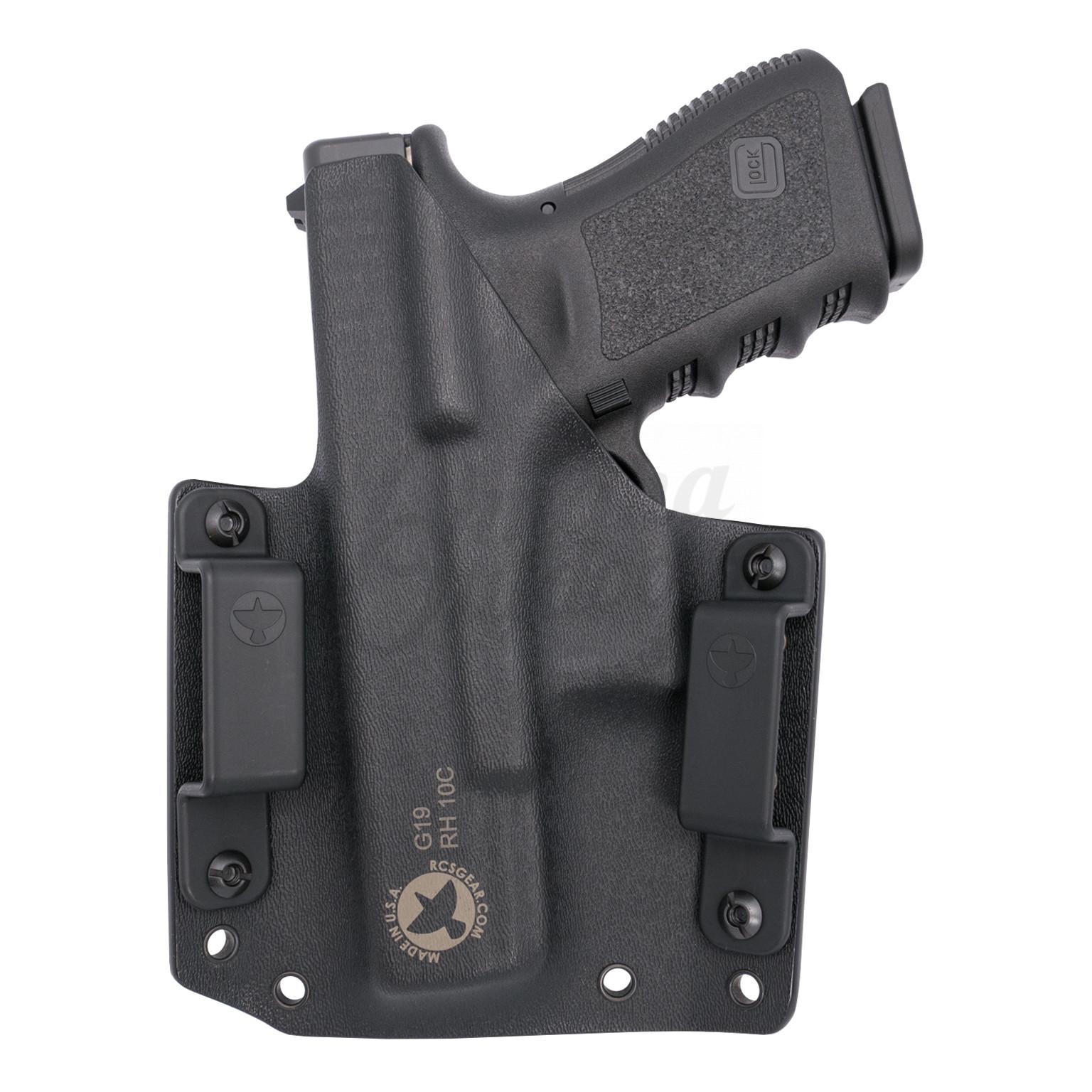 Raven Concealment Phantom OWB Holster Glock 19, 23, 32 Right Hand 1 5″ Kydex