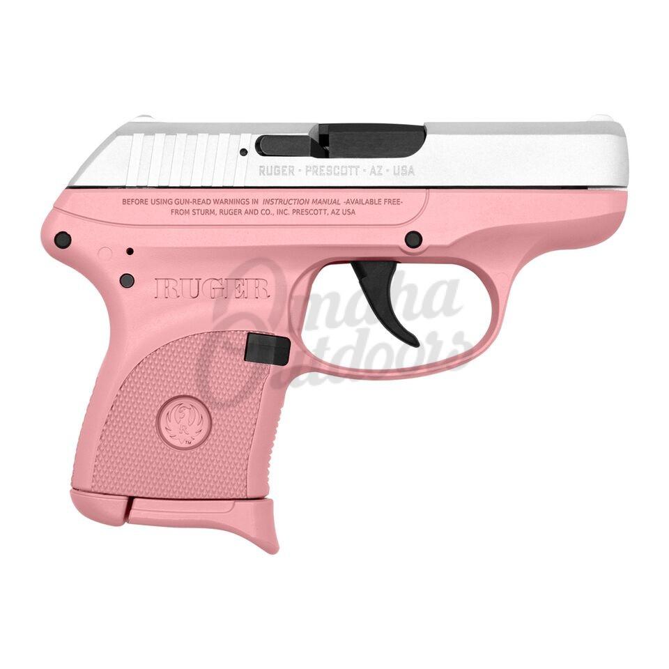 Ruger LCP Victoria Pink Pistol 6 RD 380 ACP Satin Aluminum