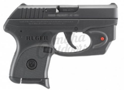 Ruger Lcp Pistol 6 Rd 380 Acp Viridian E Series Red Laser 3752
