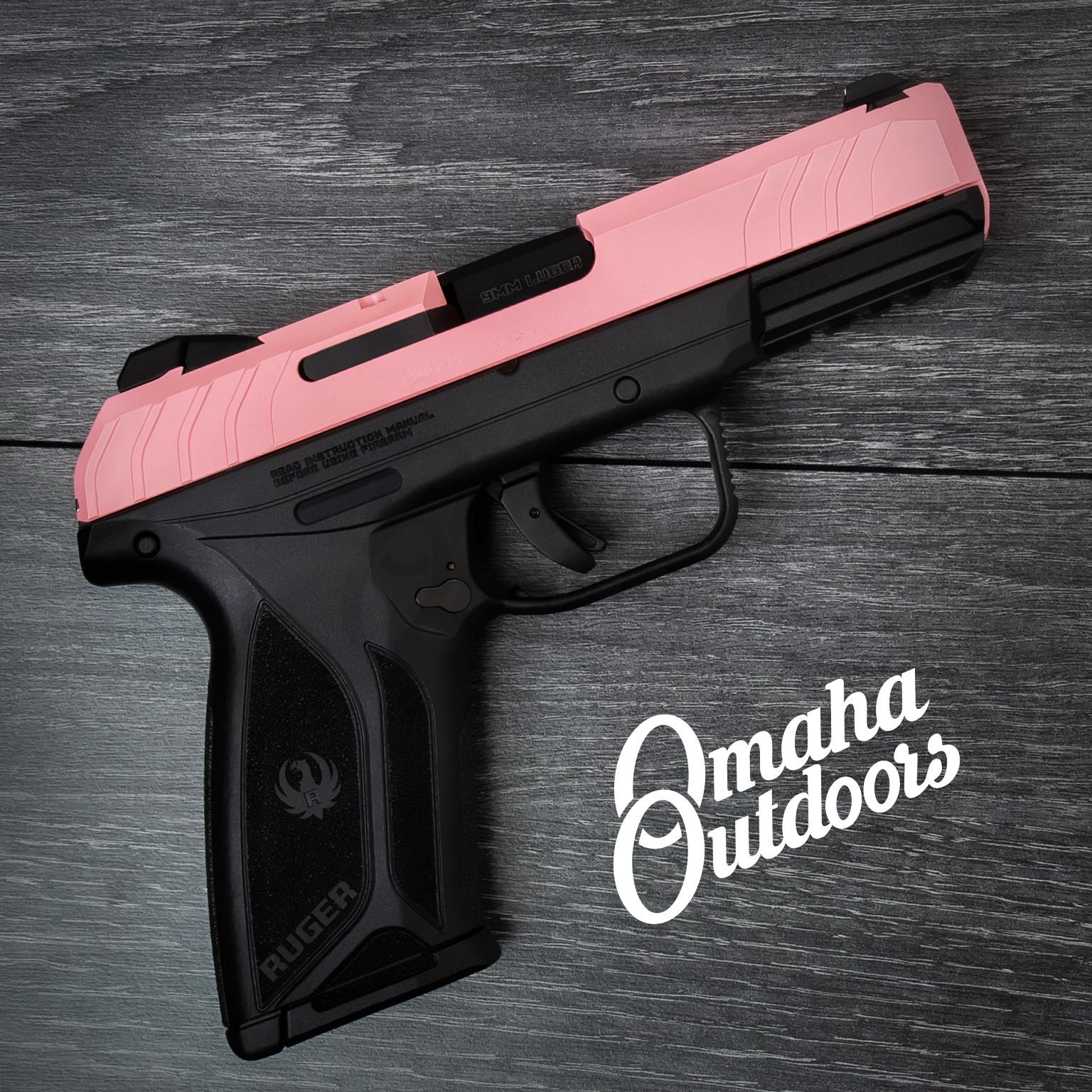 Ruger Security-9 Pistol 9mm Victoria Pink Slide 15 RD 3810-VPK-SL