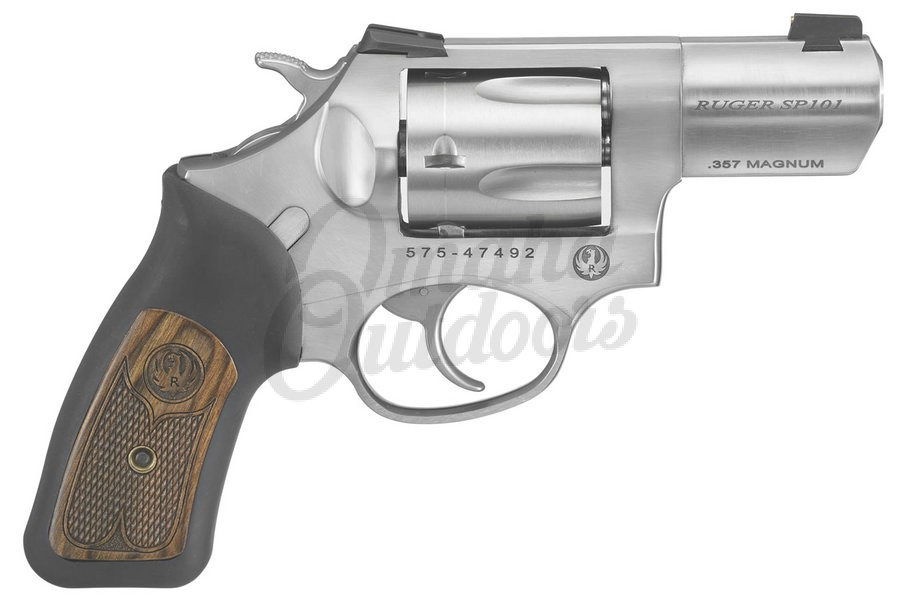 Ruger SP101 Wiley Clapp Stainless 2.25″ Revolver 357 Magnum 5 RD
