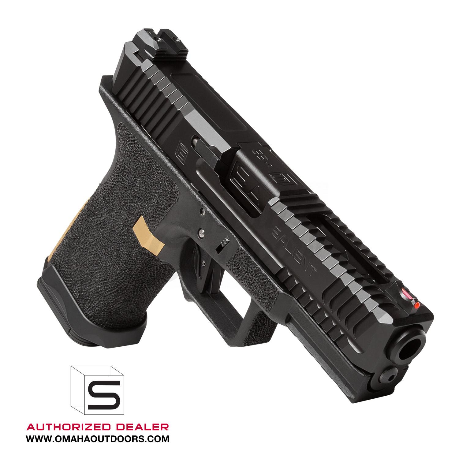 Salient Arms International BLU Compact Pistol 9mm 15 RD SAI-BLU9-C