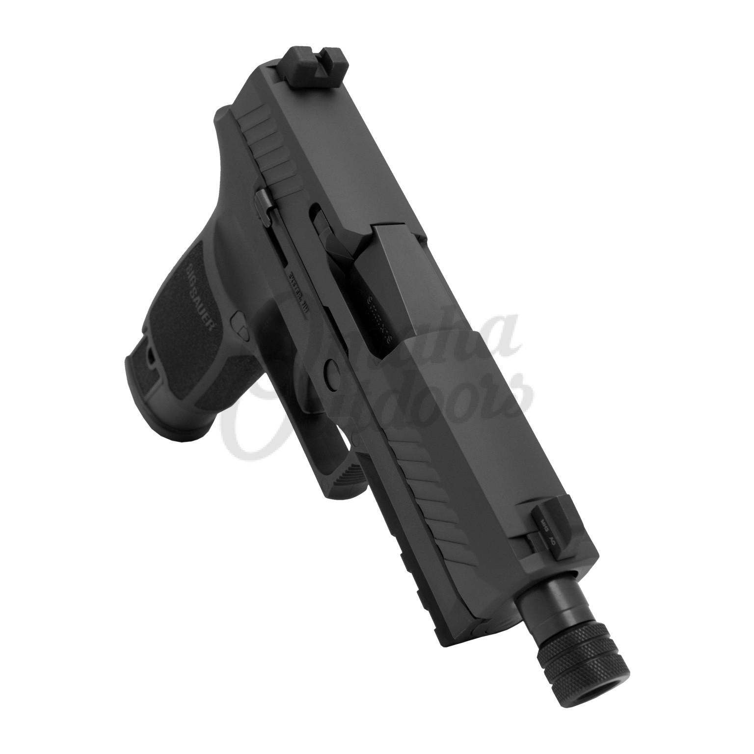 Sig Sauer P320 Carry Tacops Pistol 9mm 21 RD Night Sights Threaded Barrel  320CA-9-TACOPS-TB