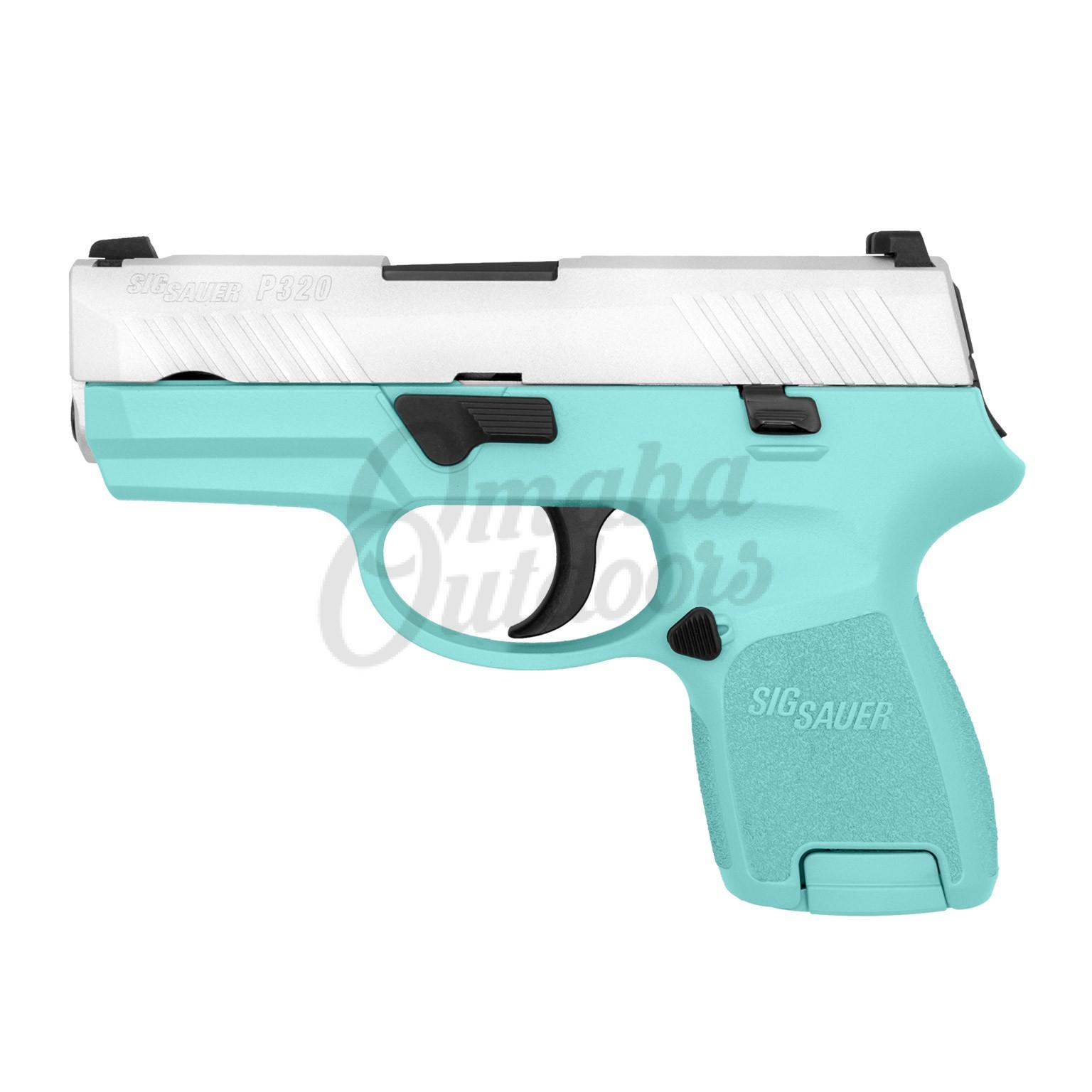 Sig Sauer P320 Subcompact Vera Blue Pistol 12 RD 9mm Satin