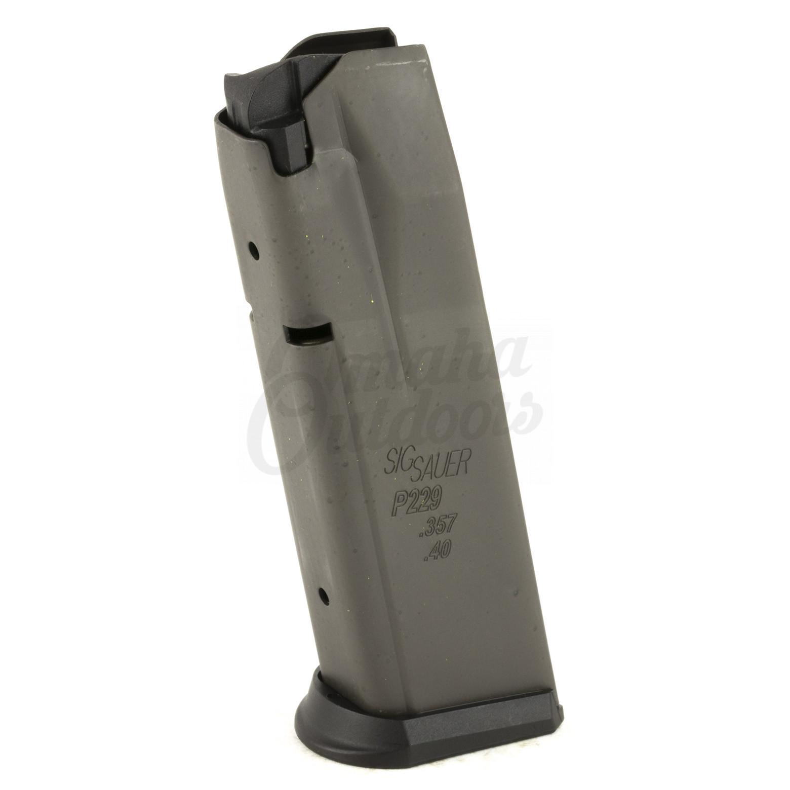 Sig Sauer P229 40 357 10rd Magazine: Sig Sauer Magazine P229 12 RD 357 SIG 40 S&W Steel MAG-229