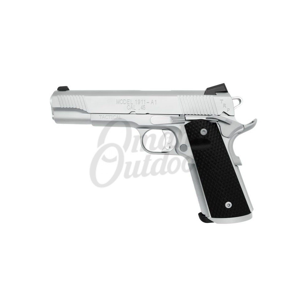 Springfield Armory 1911 TRP Full Stainless 5″ Pistol 45 ACP 7 RD Night  Sights PC9107LP