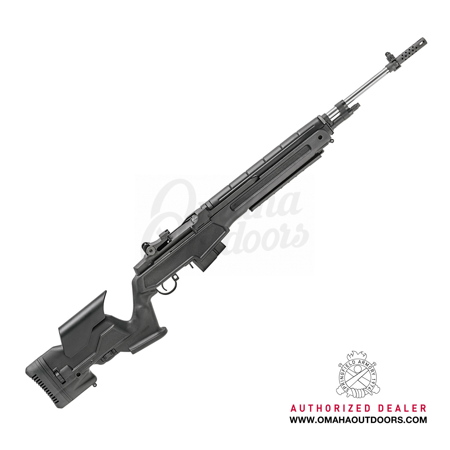 Springfield Armory Loaded M1A Precision Rifle 22