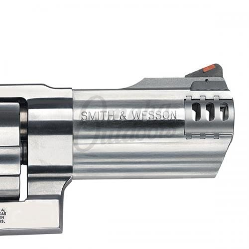 "Smith And Wesson 500 SS 4"" Revolver 5 RD 500 S&W Magnum 163504"