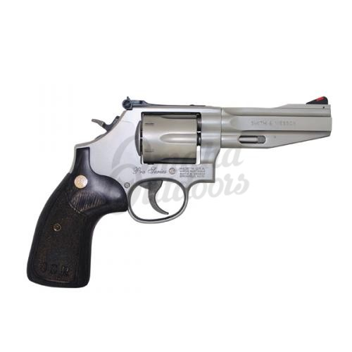 Smith And Wesson Performance Center 686 SSR Stainless 4 Revolver 357 Magnum 38 Special