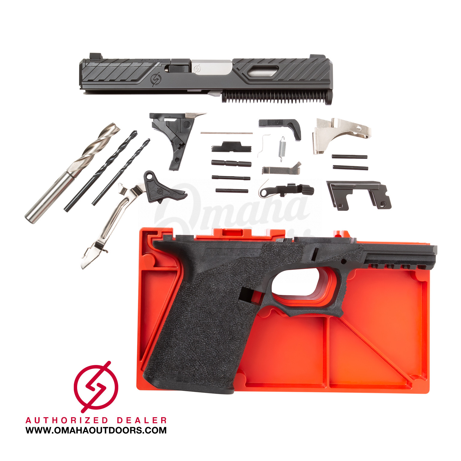 Syndicate S1 Compact Kit P80 Glock 19 80% Pistol 9mm SYN-S1-KIT