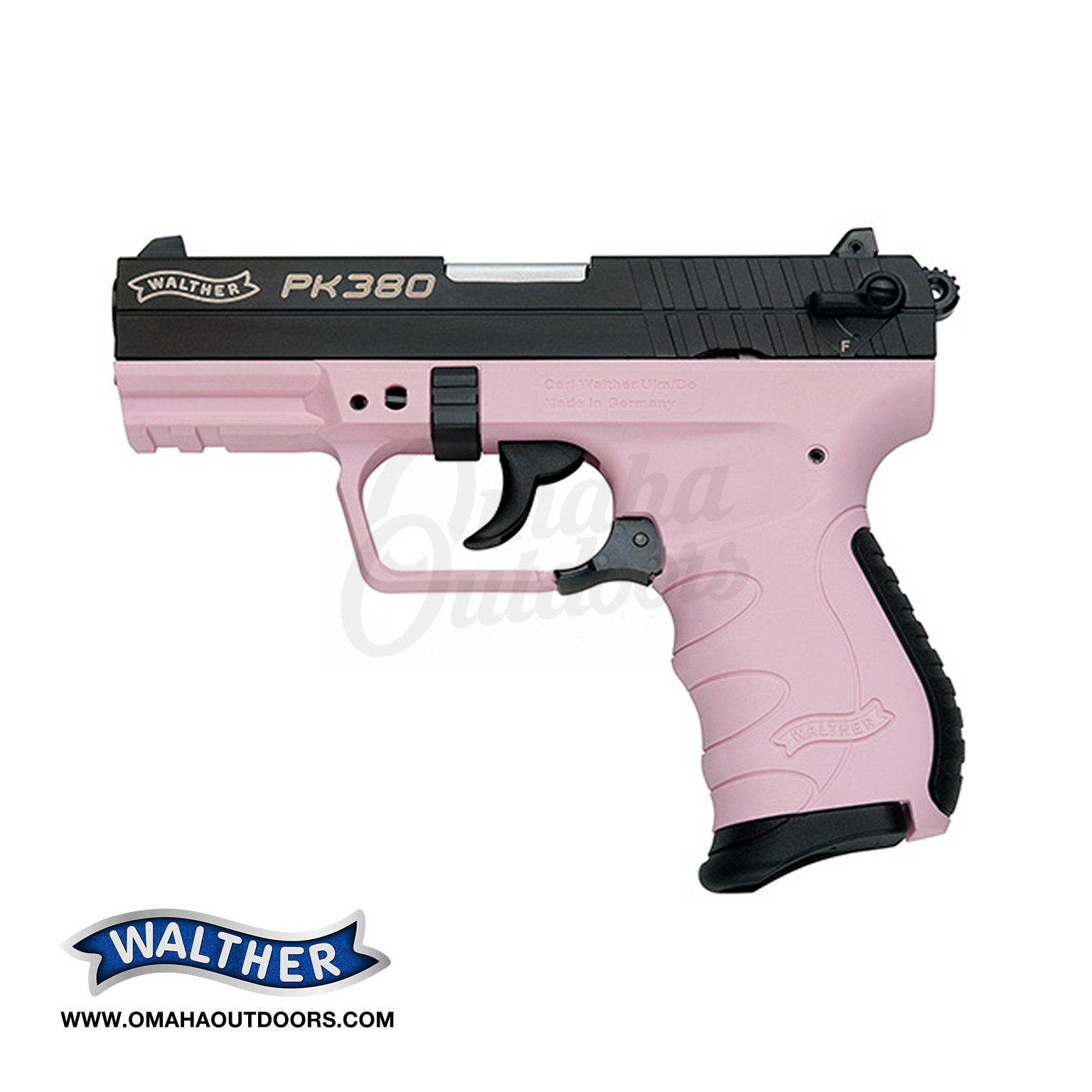 Walther Arms PK380 Pink Pistol 380 ACP 8 RD 5050311