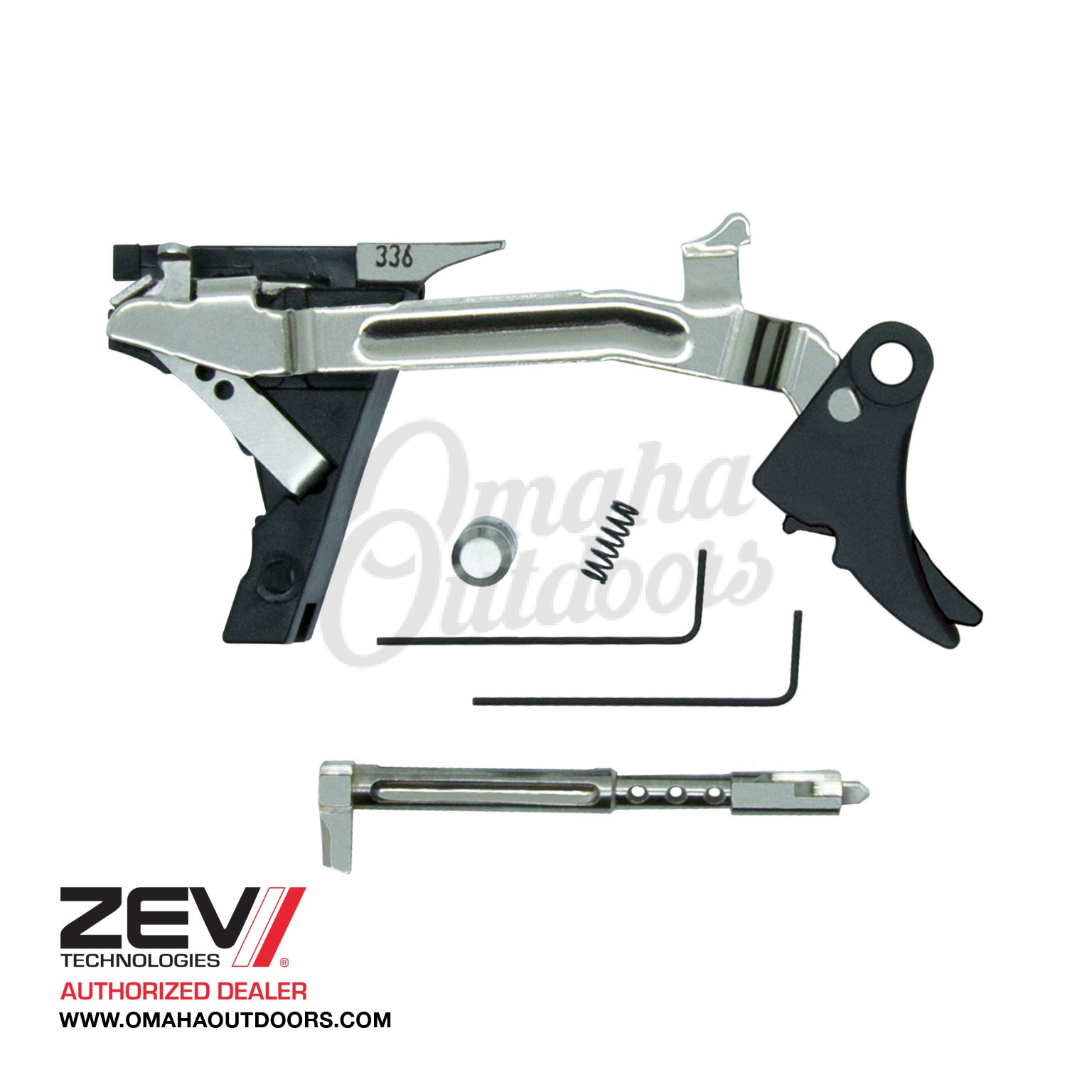ZEV Tech Fulcrum Ultimate Adjustable Curve Trigger Glock 20 29 Gen 3  Aluminum FUL-ADJ-ULT-10