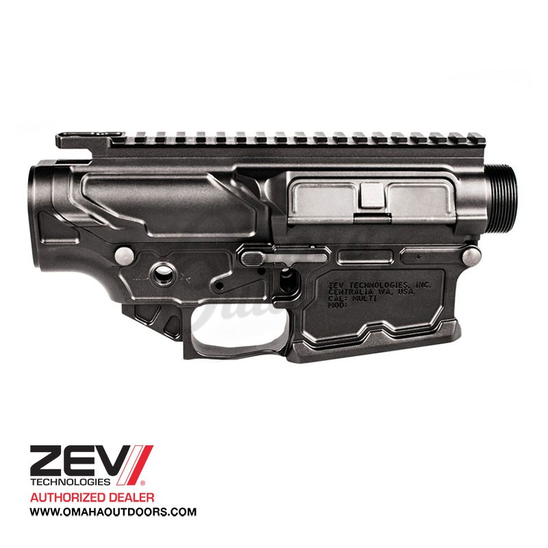 ZEV Tech Receiver Set Large Frame AR-10, LR-308, SR-25 Billet 7075-T6  Aluminum