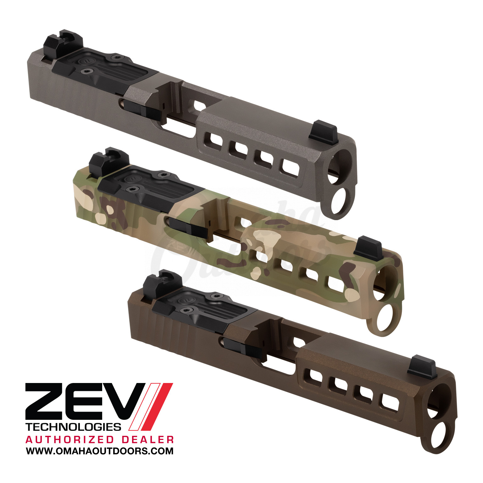 ZEV Tech Dragonfly Complete Slide Kit Glock 19 Gen 4 Steel  SLD KIT-Z19-4G-DFLY-RMR-CW ABS