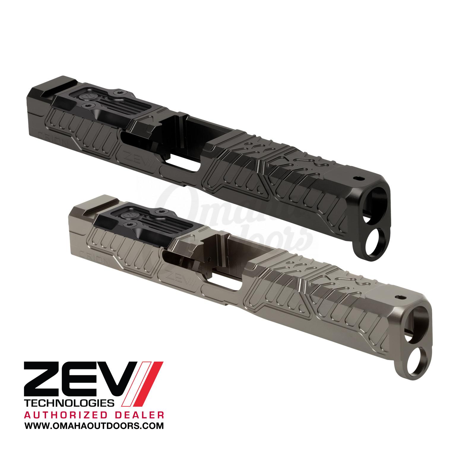 ZEV Tech Orion Stripped Slide Glock 17 Gen 5 RMR Cut
